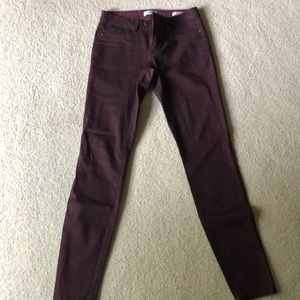 Jessica Simpson sz 4 super skinny purple